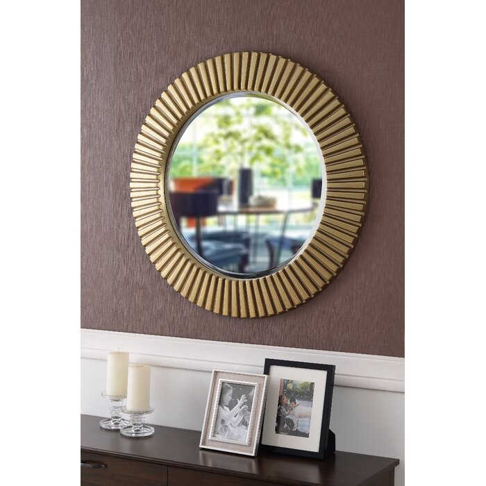 Round Eclectic Accent Mirror Intended For Round Eclectic Accent Mirrors (#10 of 20)