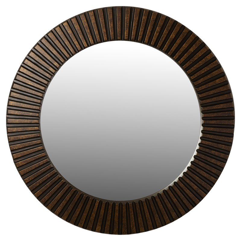Inspiration about Round Eclectic Accent Mirror Pertaining To Round Eclectic Accent Mirrors (#3 of 20)