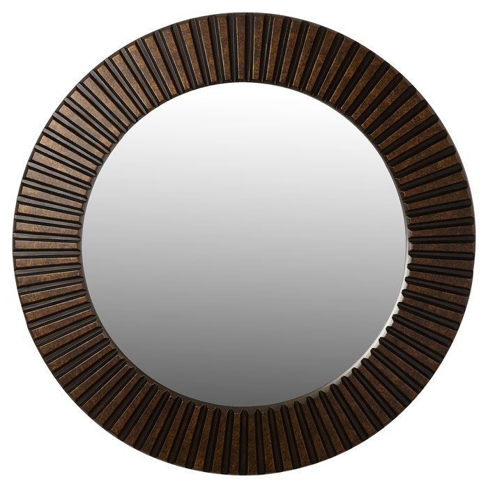 Round Eclectic Accent Mirror Within Round Eclectic Accent Mirrors (#17 of 20)