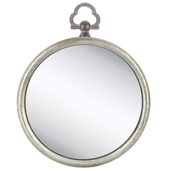 Inspiration about Round Galvanized Metal Mirror | Hobby Lobby | 80842574 Inside Round Galvanized Metallic Wall Mirrors (#13 of 20)