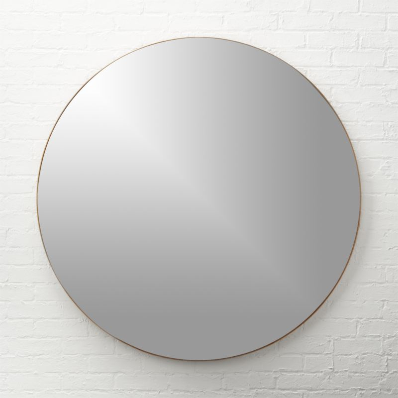 Inspiration about Round Gold Mirrors – Mirror Ideas Throughout Kentwood Round Wall Mirrors (#18 of 20)