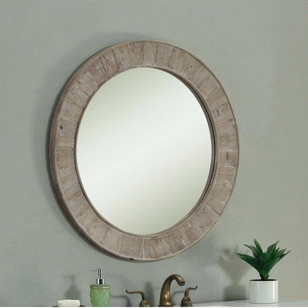 Inspiration about Round Wall Mirrors – Bestpsychic.co For Kentwood Round Wall Mirrors (#14 of 20)