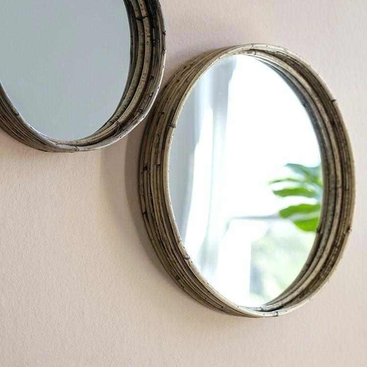Inspiration about Round Wall Mirrors – Blairsindelar.co Throughout Point Reyes Molten Round Wall Mirrors (#17 of 20)