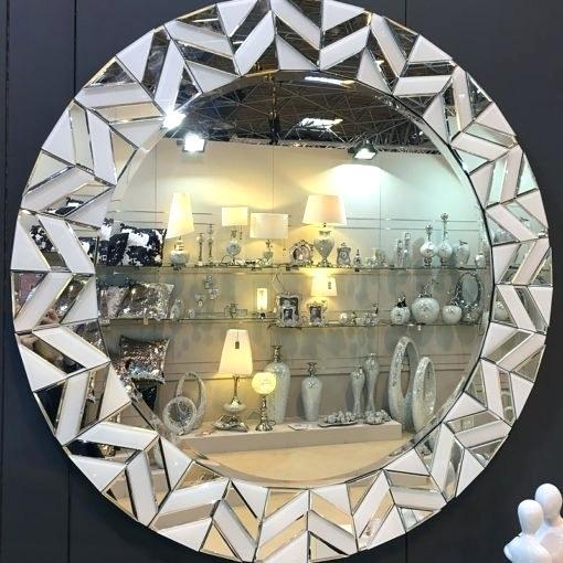 Round Wall Mirrors – Blairsindelar (#18 of 20)