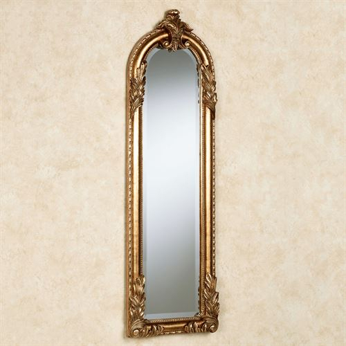 Inspiration about Royal Acanthus Gold Arched Wall Mirror Inside Gold Arch Wall Mirrors (#18 of 20)