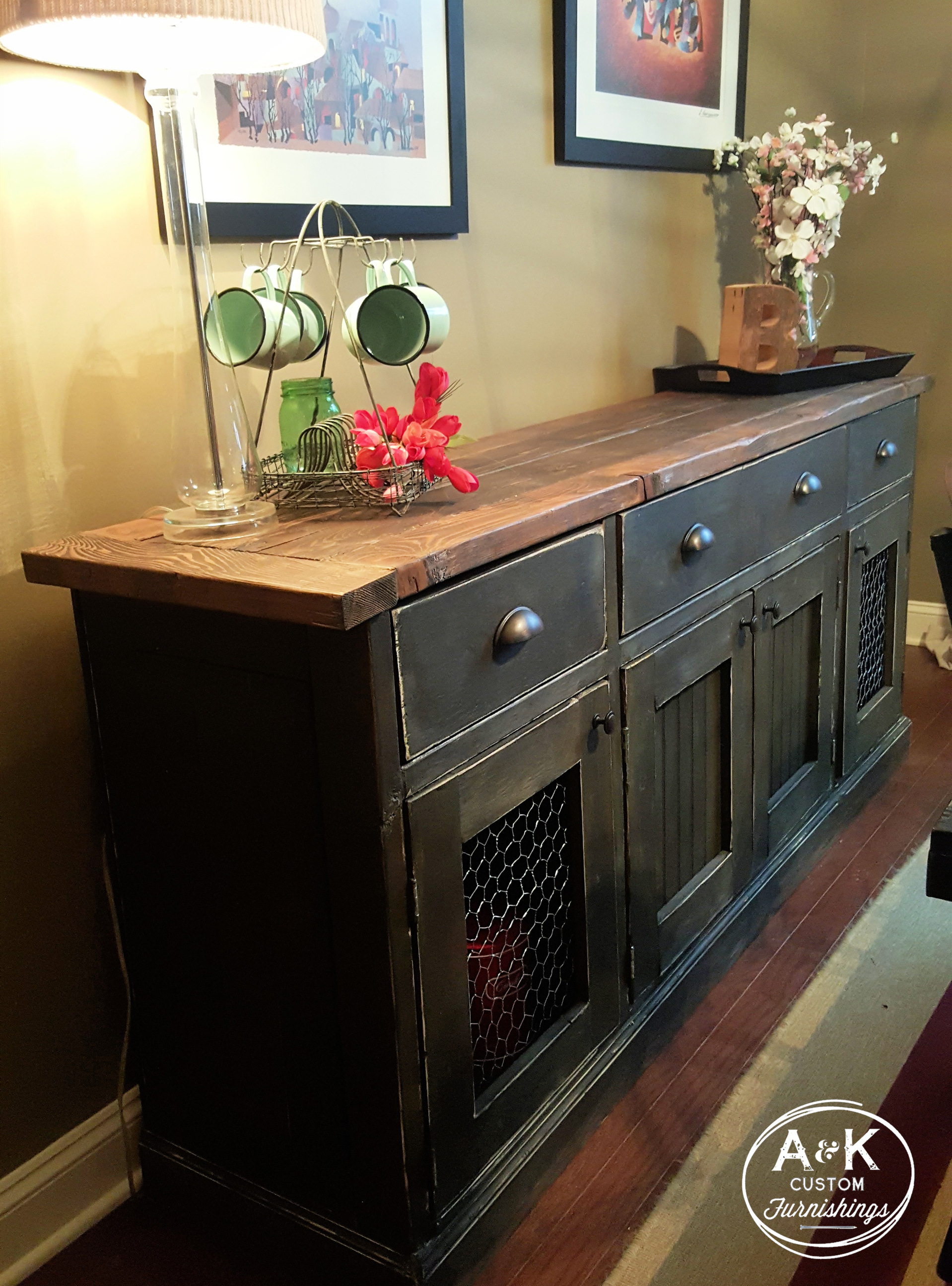 Inspiration about Rustic Sideboard | Storage | Rustic Sideboard, Sideboard With Most Recent Langsa Sideboards (#9 of 20)