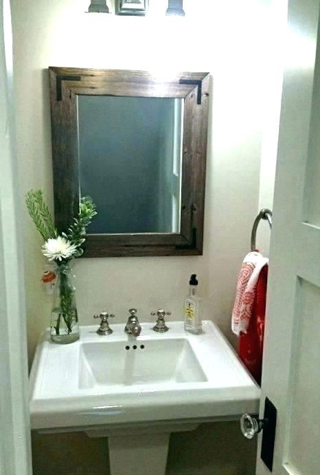 Inspiration about Rustic Vanity Mirror – Vanettapaulette.co With Regard To Landover Rustic Distressed Bathroom/vanity Mirrors (#14 of 20)