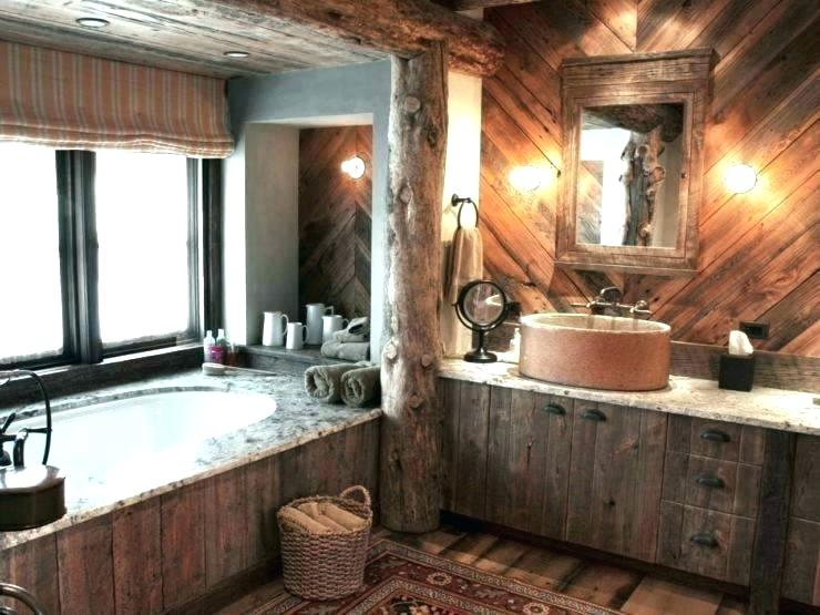 Inspiration about Rustic Vanity Mirror – Vanettapaulette.co With Regard To Landover Rustic Distressed Bathroom/vanity Mirrors (#19 of 20)