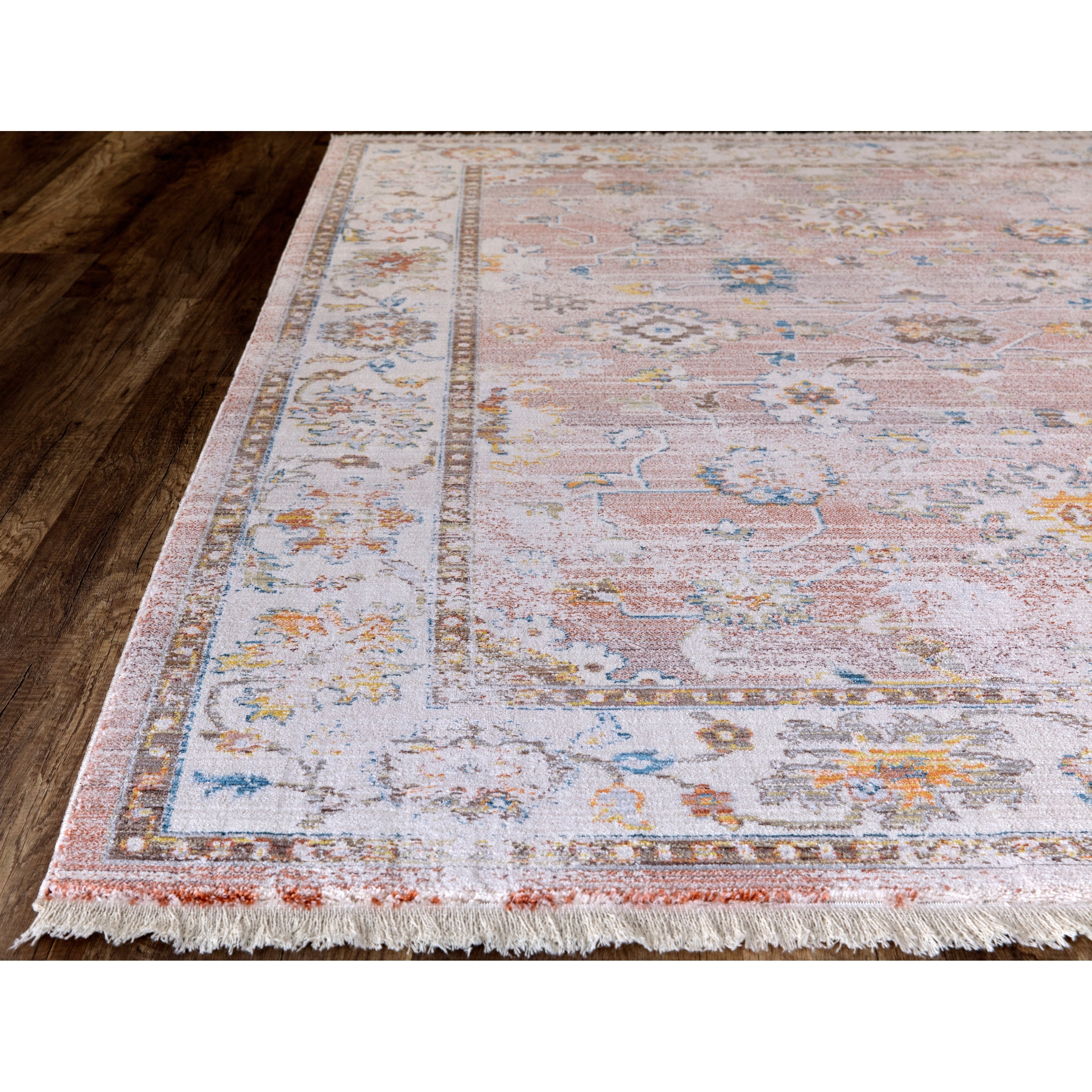 """Rutherford Faded Rust Area Rug – 7'10""""x10'2"""" Throughout Current Rutherford Sideboards (View 12 of 20)"""