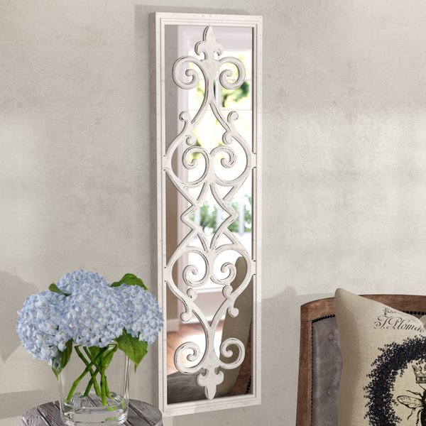 Scroll Mirror | Wayfair Throughout Polen Traditional Wall Mirrors (View 10 of 20)