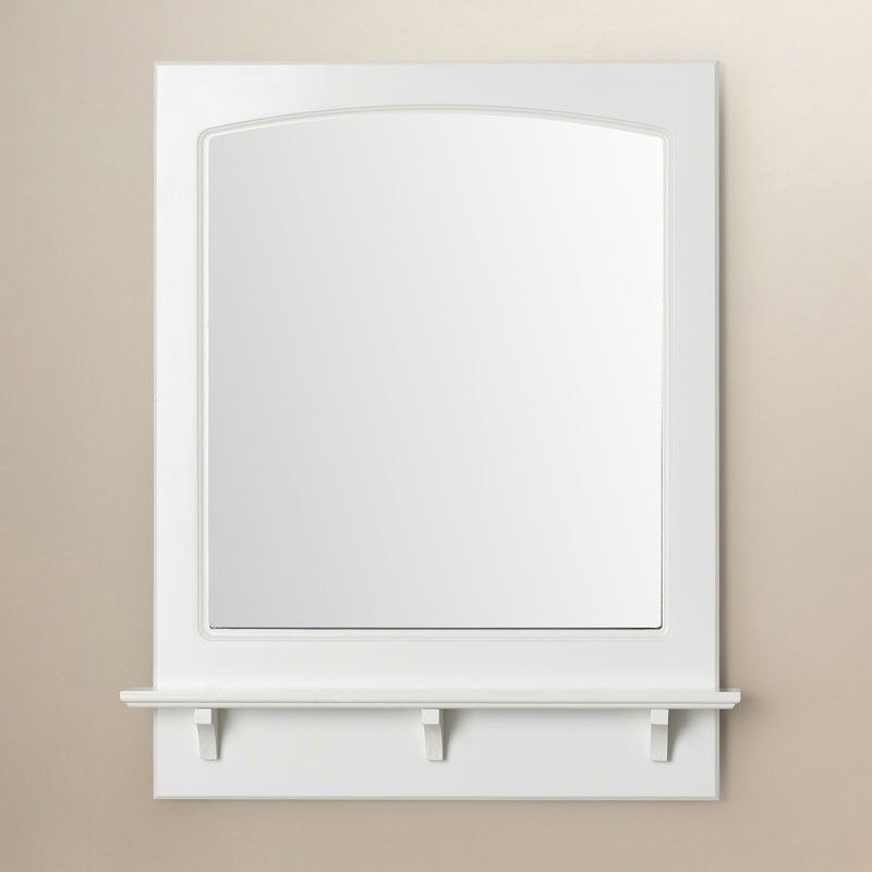 Searle Rectangle Accent Mirror With Hallas Wall Organizer Mirrors (View 4 of 20)