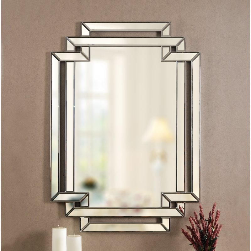 Seren Traditional Beveled Accent Mirror Regarding Traditional Beveled Accent Mirrors (#10 of 20)