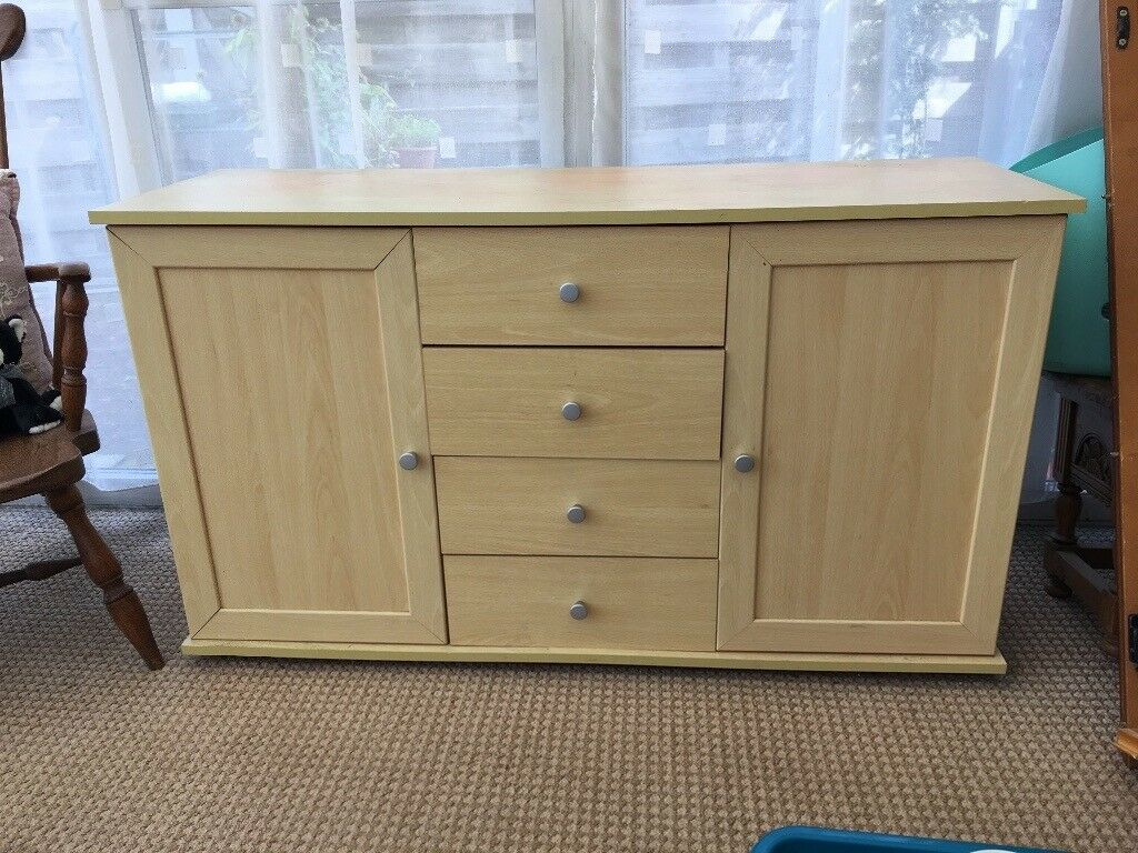 Sideboard And Occasional Table. Downsizing Move Reason For Sale (#15 of 20)