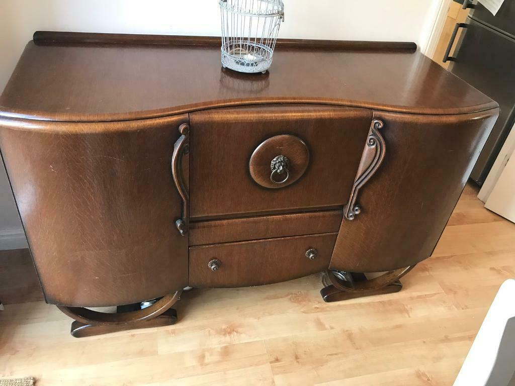 Sideboard Art Deco – Vintage | In Raunds, Northamptonshire | Gumtree With Most Current Raunds Sideboards (View 7 of 20)