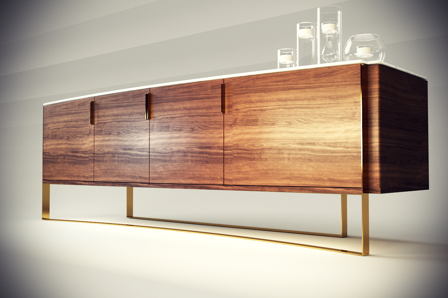 Sideboard Design For 'stella Mobilya'  With The Regarding Best And Newest Stella Sideboards (#7 of 20)