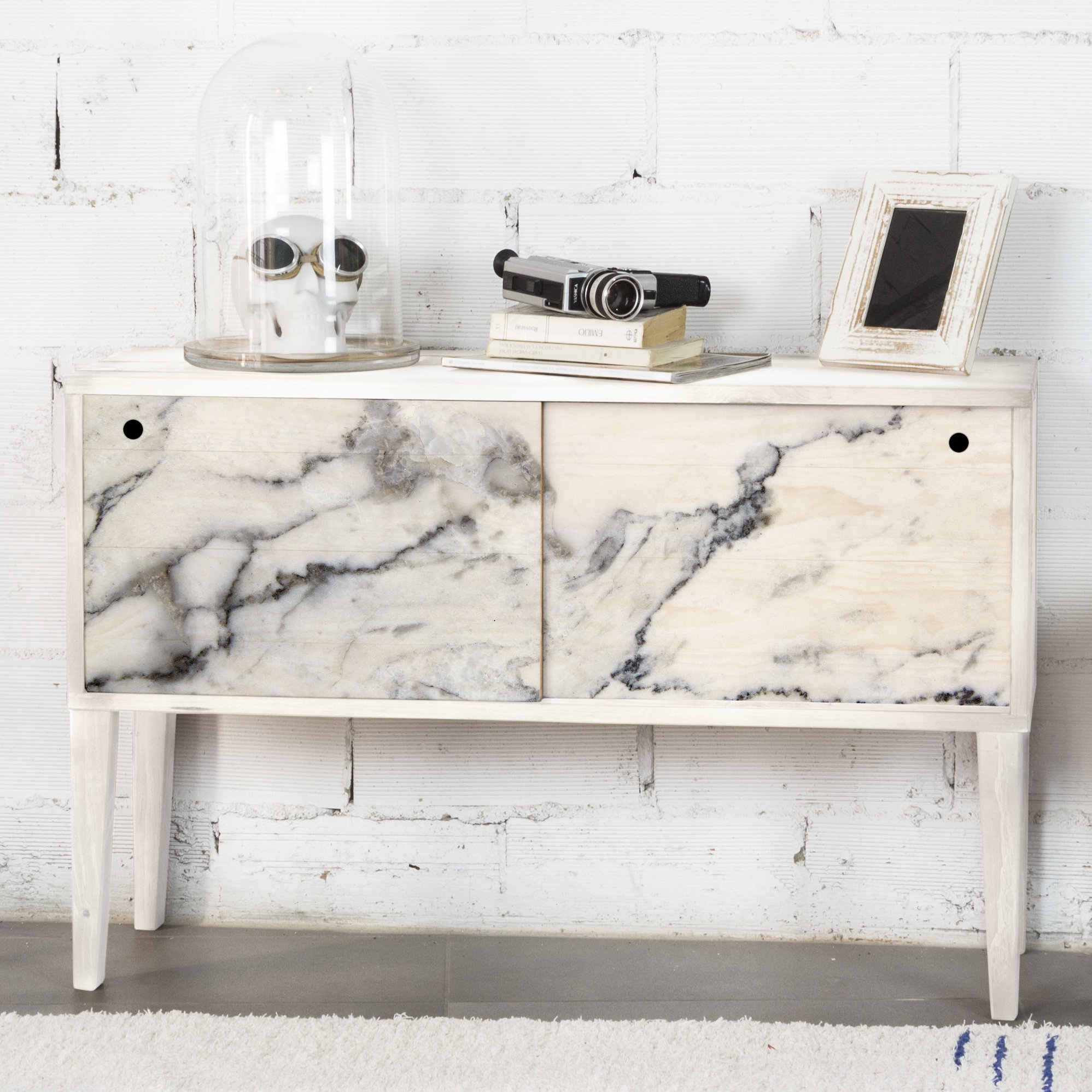 Sideboard Marble For Most Up To Date Sideboards By Wildon Home (#12 of 20)