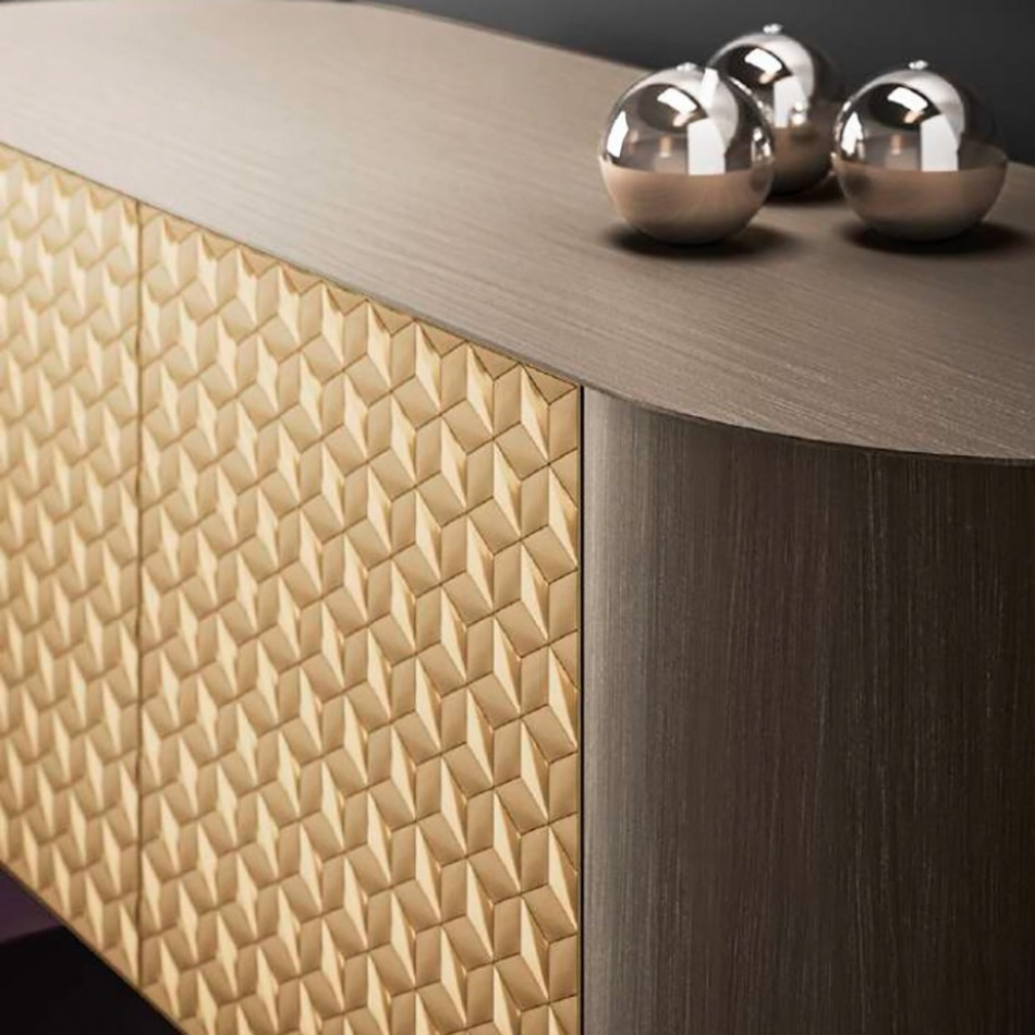 Sideboard Mosaico Pertaining To Best And Newest Castelli Sideboards (#14 of 20)