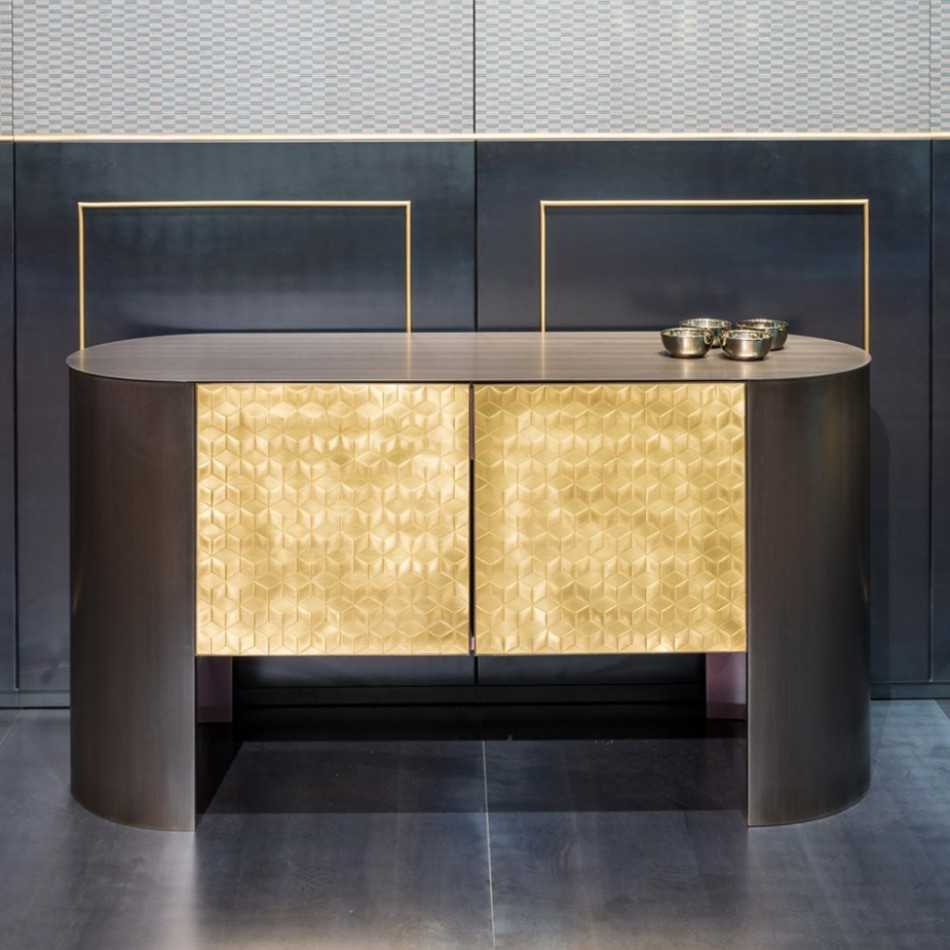Sideboard Mosaico With Recent Castelli Sideboards (#15 of 20)