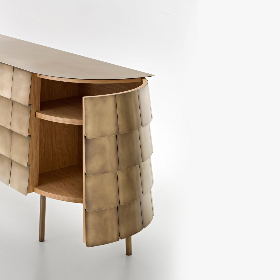 Sideboard Yoroi With Regard To Most Up To Date Castelli Sideboards (#18 of 20)