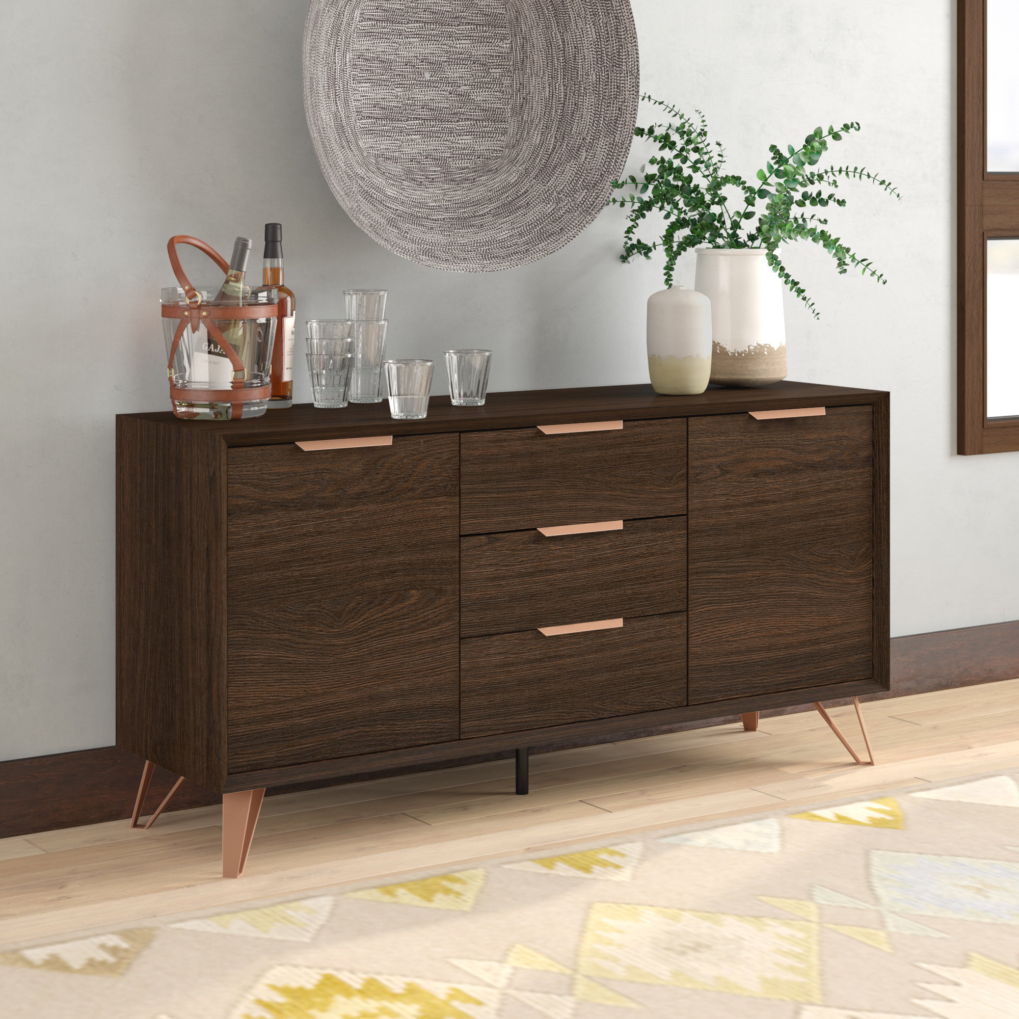Sideboards & Buffet Tables You'll Love In 2019 | Wayfair Regarding Best And Newest Longley Sideboards (View 7 of 20)