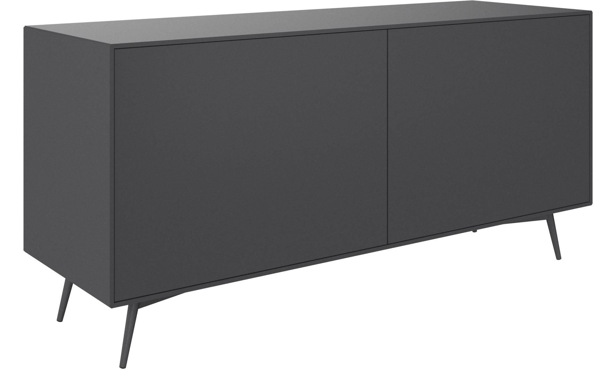 Sideboards – Fermo Sideboard – Grey – Lacquered | Family Pertaining To Most Current Rutherford Sideboards (View 17 of 20)