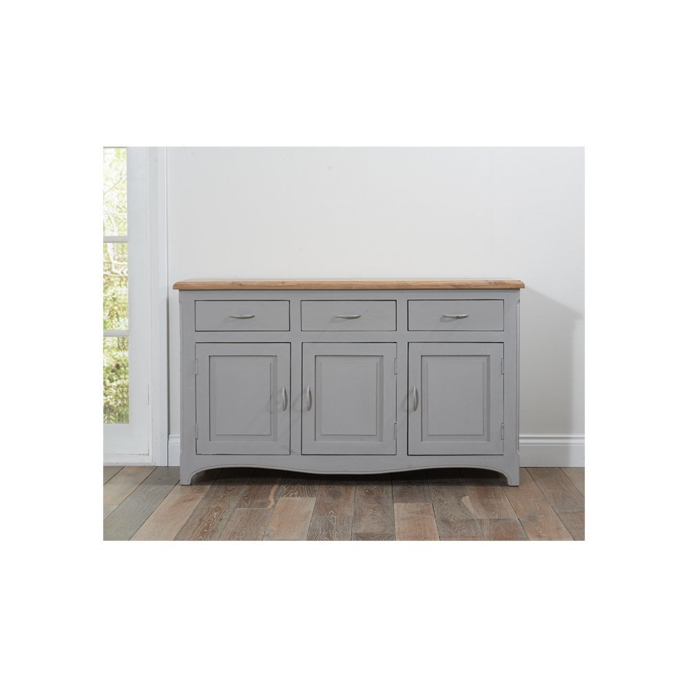 Sienna Oak And Grey Sideboard With Regard To Most Up To Date Sienna Sideboards (#15 of 20)