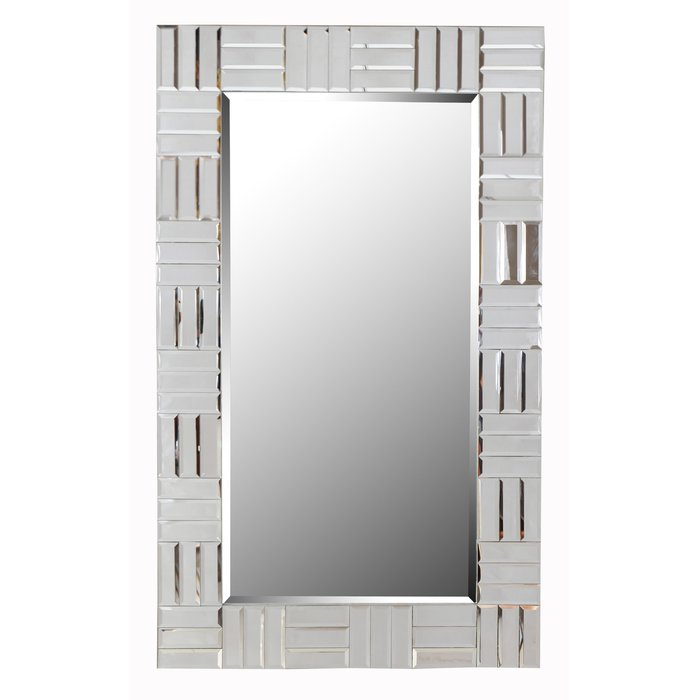 Popular Photo of Silver Frame Accent Mirrors