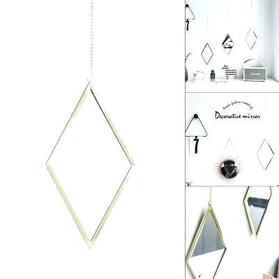 Inspiration about Silver Geometric Wall Mirror Mirrorsknight Home Bold With Rectangle Ornate Geometric Wall Mirrors (#17 of 20)