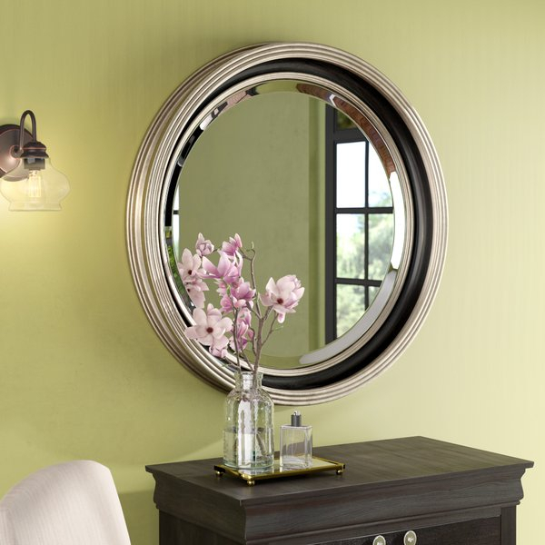 Silver Leaf Accent Mirror | Wayfair For Moseley Accent Mirrors (View 20 of 20)