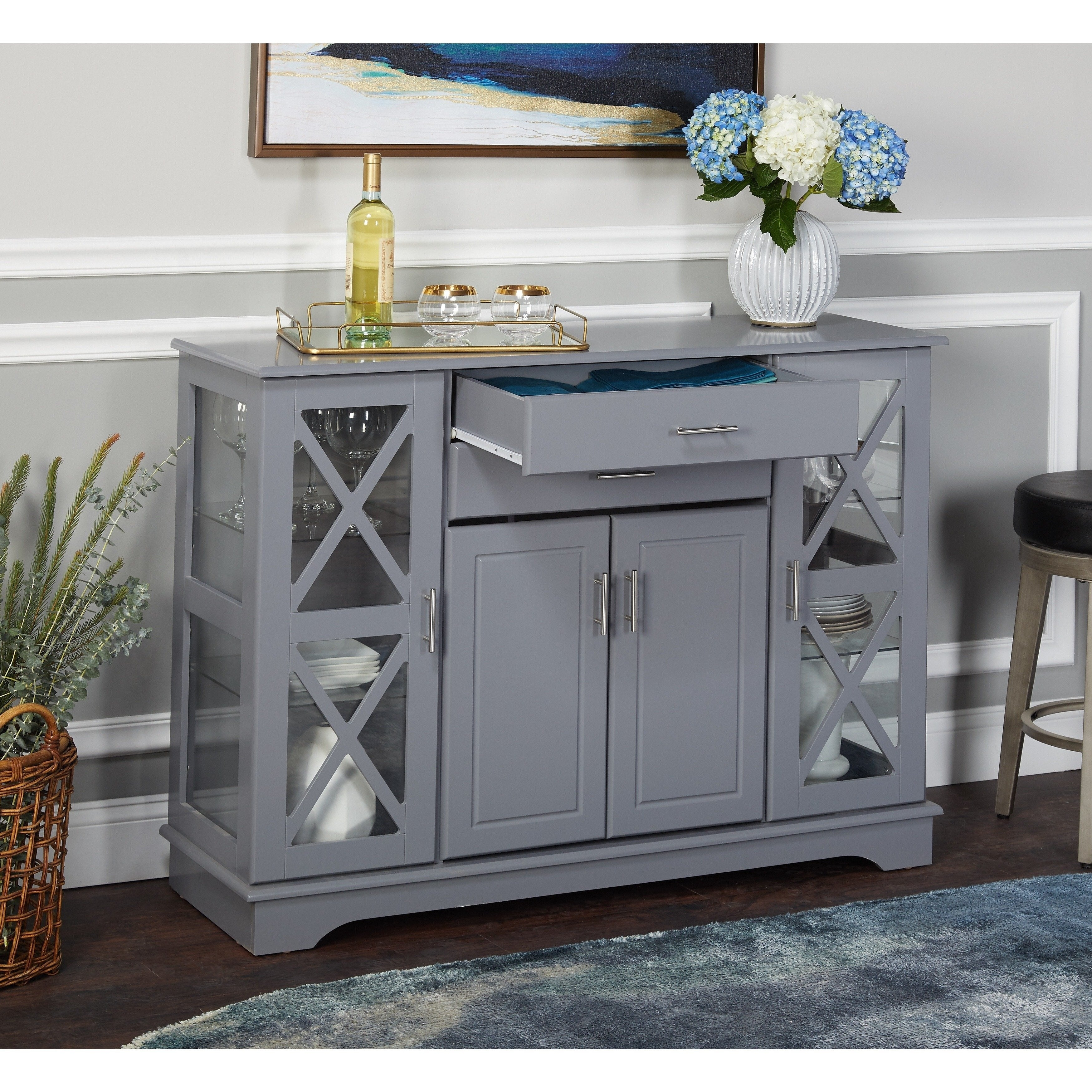 Simple Living Kendall Buffet Inside Most Recently Released Kendall Sideboards (#19 of 20)
