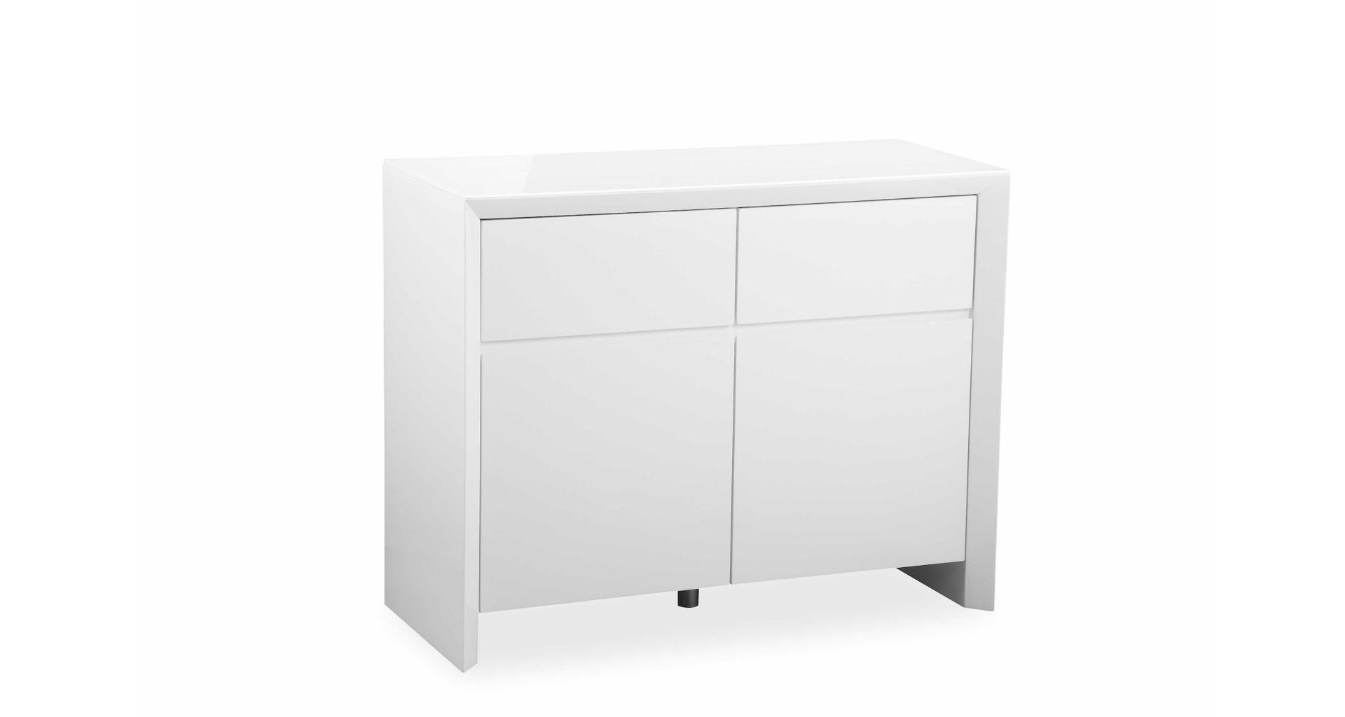 Soho – White – Small Sideboard – High Gloss Intended For Most Popular Thite Sideboards (View 19 of 20)