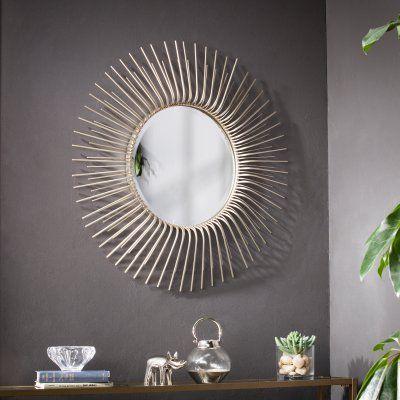 Southern Enterprises Trevella Wall Mirror – 32.5 Diam (#17 of 20)
