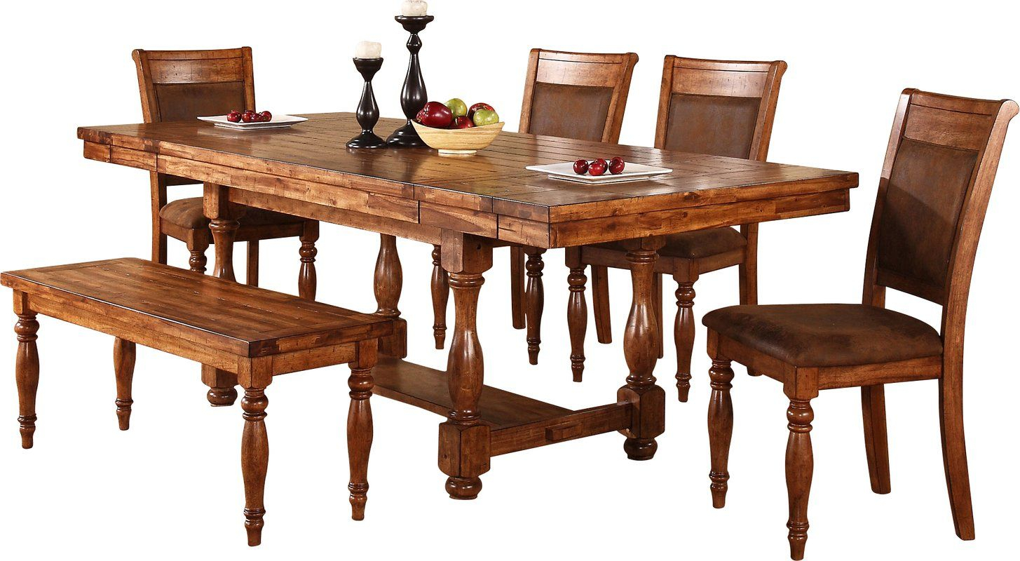 Stanton Dining Table   Spanish Colonial: Dining Room Inside 2018 Sayles Sideboards (#18 of 20)