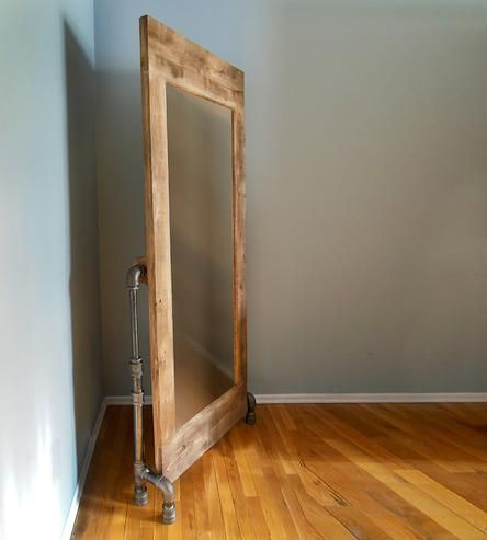Styled Like Vintage In Brand New Materials, This Industrial For Industrial Full Length Mirrors (#19 of 20)