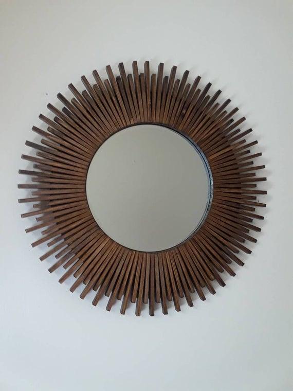 20 Best Of Deniece Sunburst Round Wall Mirrors