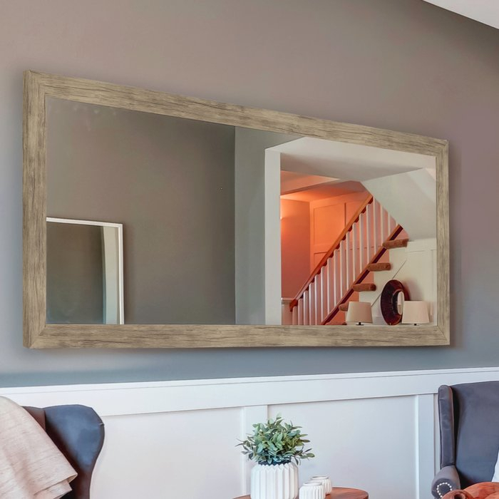Swearengin Weathered Accent Mirror For Bartolo Accent Mirrors (View 18 of 20)