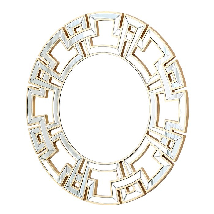Inspiration about Tata Openwork Round Wall Mirror For Tata Openwork Round Wall Mirrors (#5 of 20)