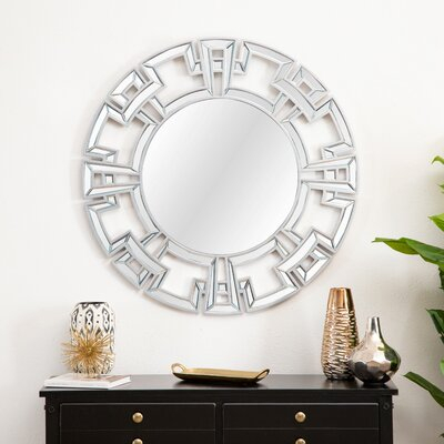 Inspiration about Tata Openwork Round Wall Mirror | Joss & Main Pertaining To Tata Openwork Round Wall Mirrors (#6 of 20)