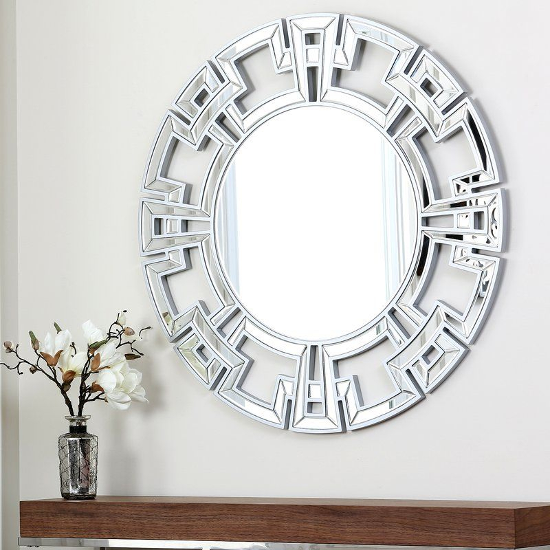 Tata Openwork Round Wall Mirror | Mirrors | Silver Wall With Regard To Tata Openwork Round Wall Mirrors (#20 of 20)