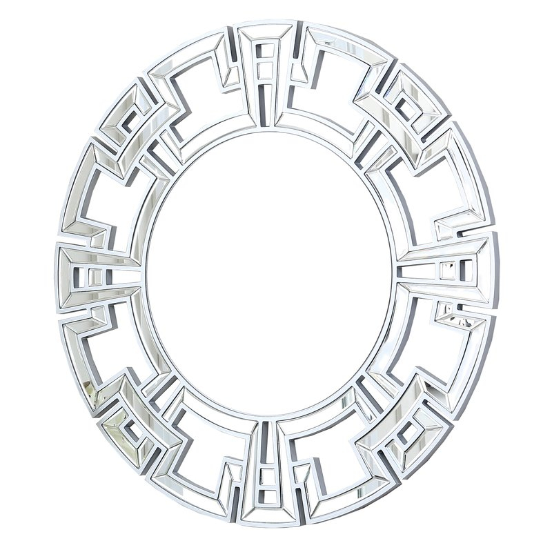 Inspiration about Tata Openwork Round Wall Mirror Pertaining To Tata Openwork Round Wall Mirrors (#2 of 20)