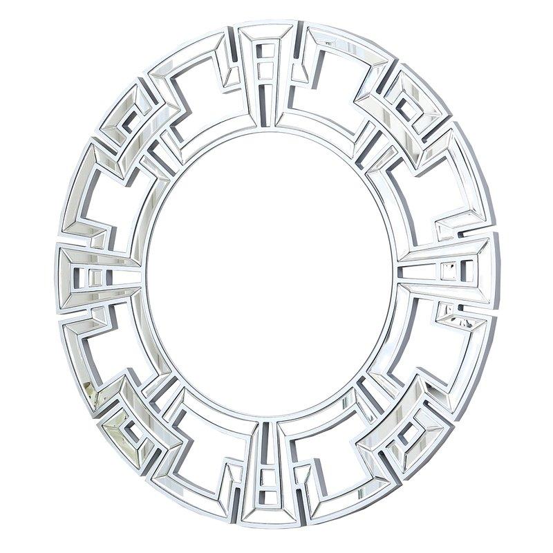 Tata Openwork Round Wall Mirror Pertaining To Tata Openwork Round Wall Mirrors (#14 of 20)