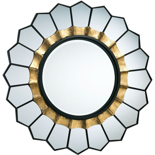 Inspiration about Tempe Mirror ($353) ❤ Liked On Polyvore Featuring Home Regarding Brylee Traditional Sunburst Mirrors (#14 of 20)