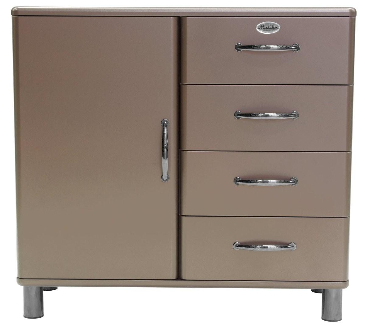 Inspiration about Tenzo Sideboard Malibu 5035 088 – 1 Tür / 4 Schubladen – Bronze With Regard To Current Malibu 2 Door 4 Drawer Sideboards (#15 of 20)