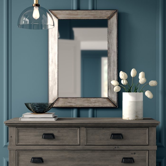 Terri Traditional Rectangle Framed Accent Mirror Inside Berinhard Accent Mirrors (#17 of 20)