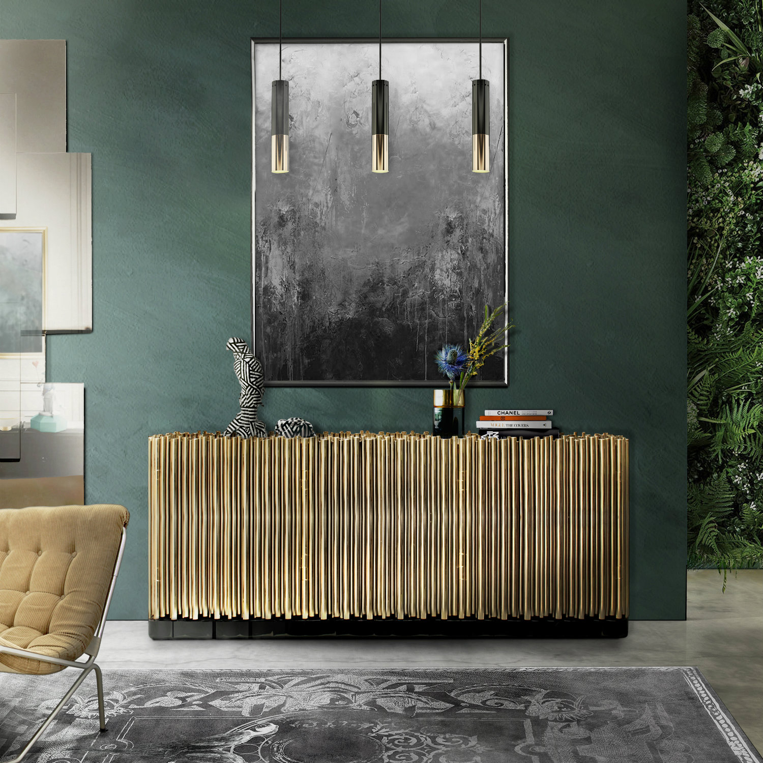Inspiration about The Best Metal Sideboards For A Welcoming Entrance Foyer With Best And Newest Wattisham Sideboards (#12 of 20)