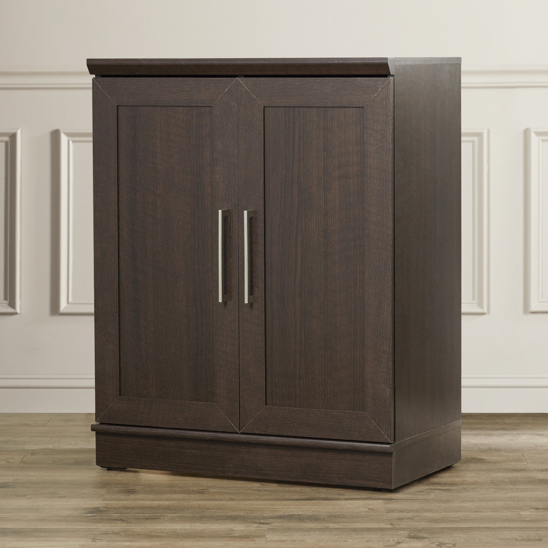 Inspiration about Tiberius 2 Doors Accent Cabinet For Most Popular Massillon Sideboards (#18 of 20)