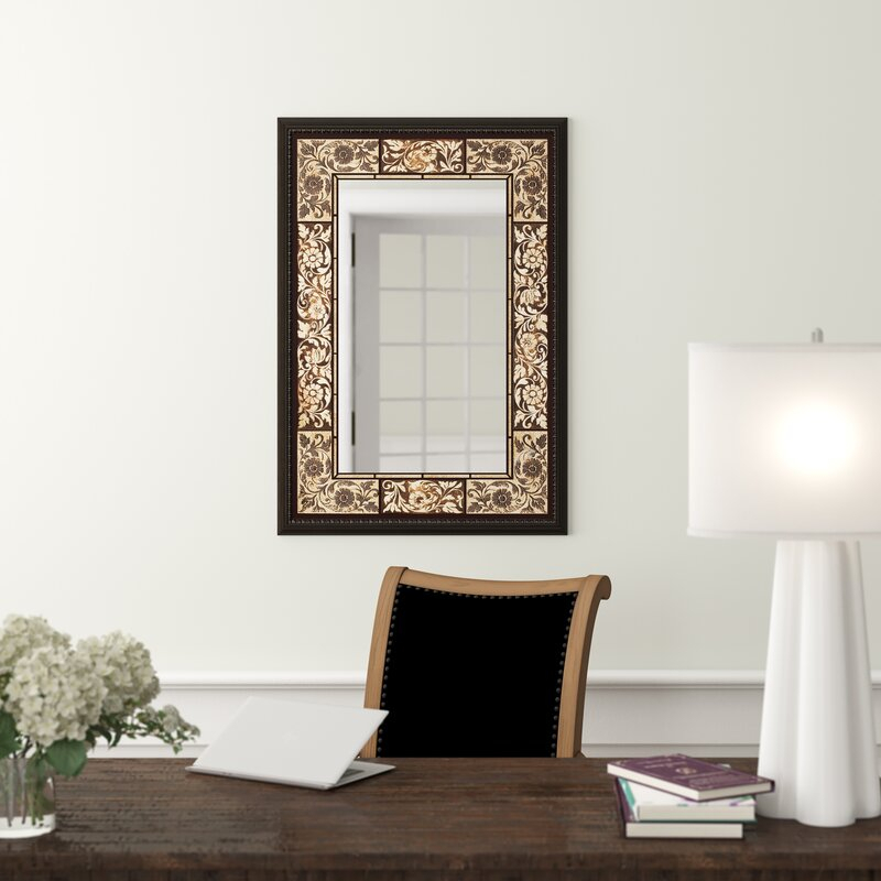 Tile Rectangle Accent Wall Mirror Pertaining To Rectangle Accent Wall Mirrors (View 11 of 20)