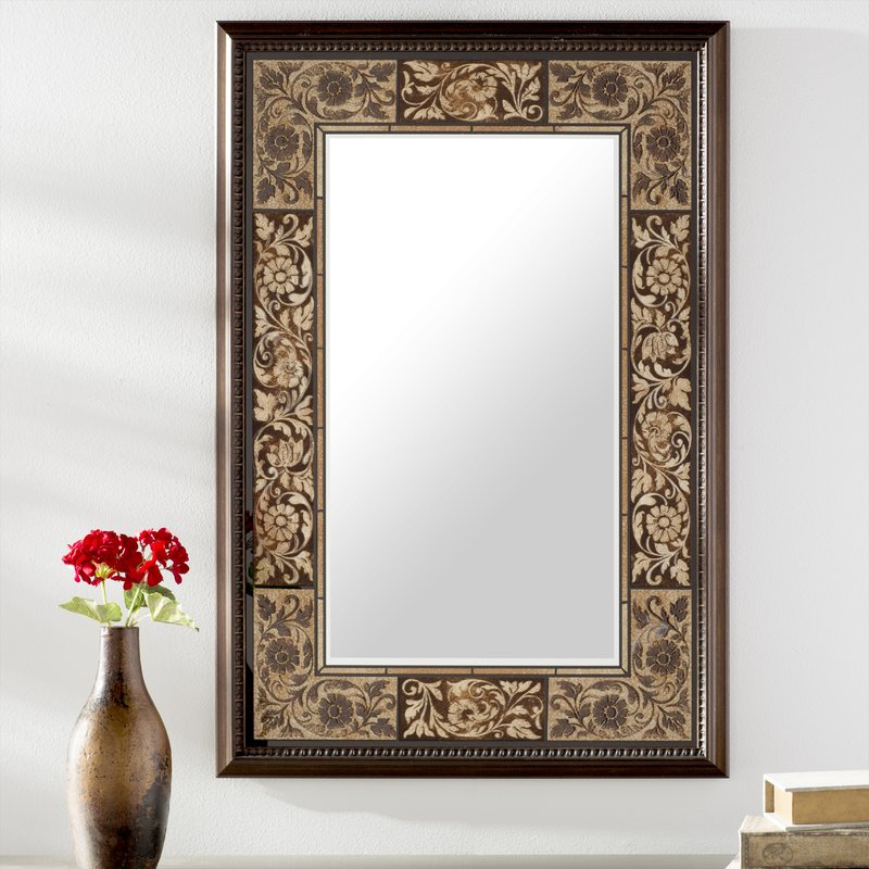 Tile Rectangle Accent Wall Mirror With Regard To Rectangle Accent Wall Mirrors (View 17 of 20)