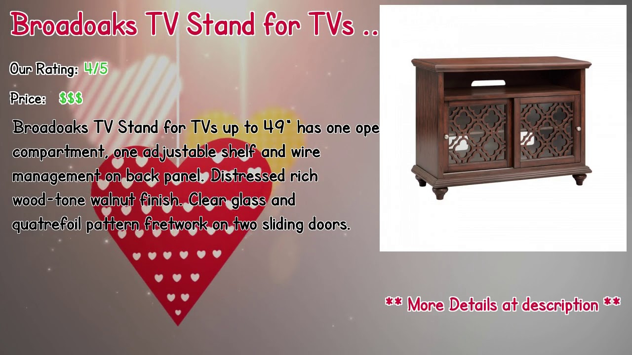 "Inspiration about Top 10 Tv Stands Used In 2019 Regarding Best And Newest Ericka Tv Stands For Tvs Up To 42"" (#12 of 20)"