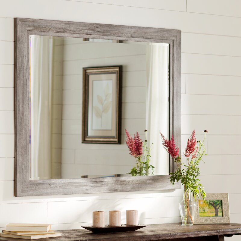 Inspiration about Traditional Beveled Accent Mirror Pertaining To Longwood Rustic Beveled Accent Mirrors (#10 of 20)